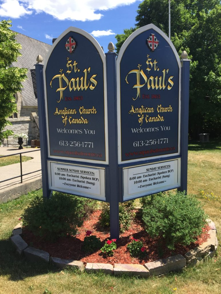 St Paul's Almonte Sunday Services