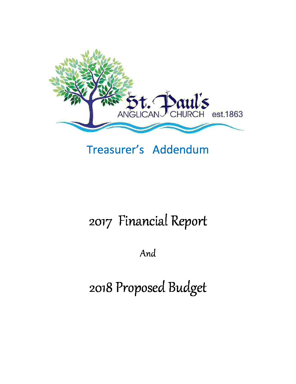 2017 Treasurer's Report Final