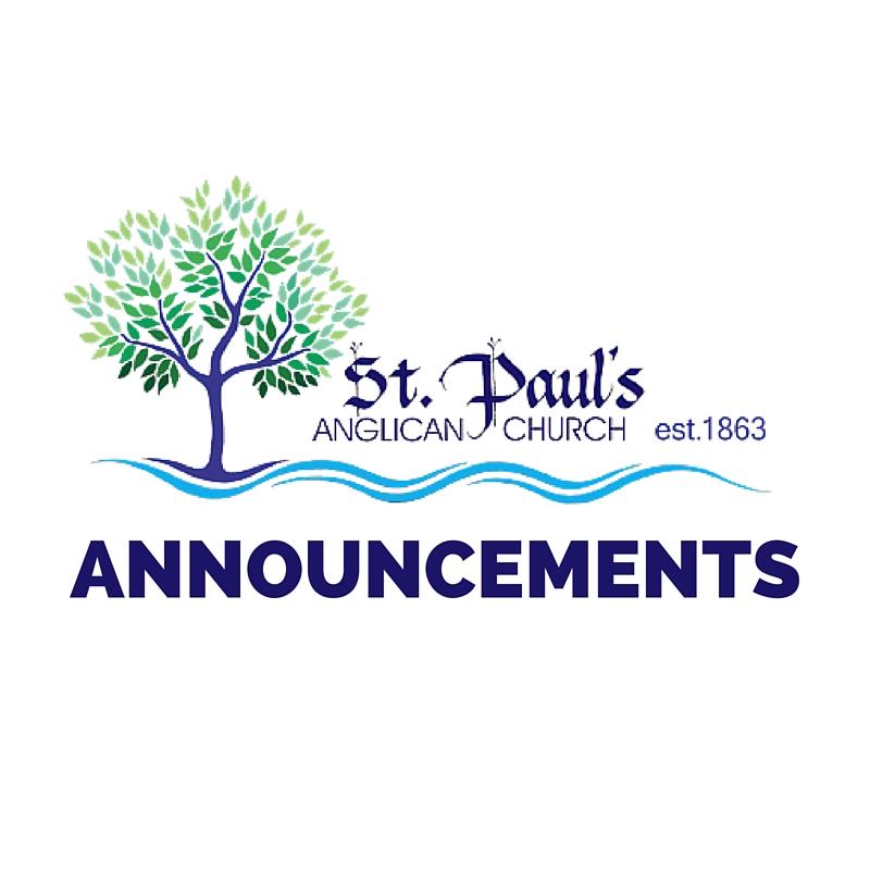 Announcements (1)