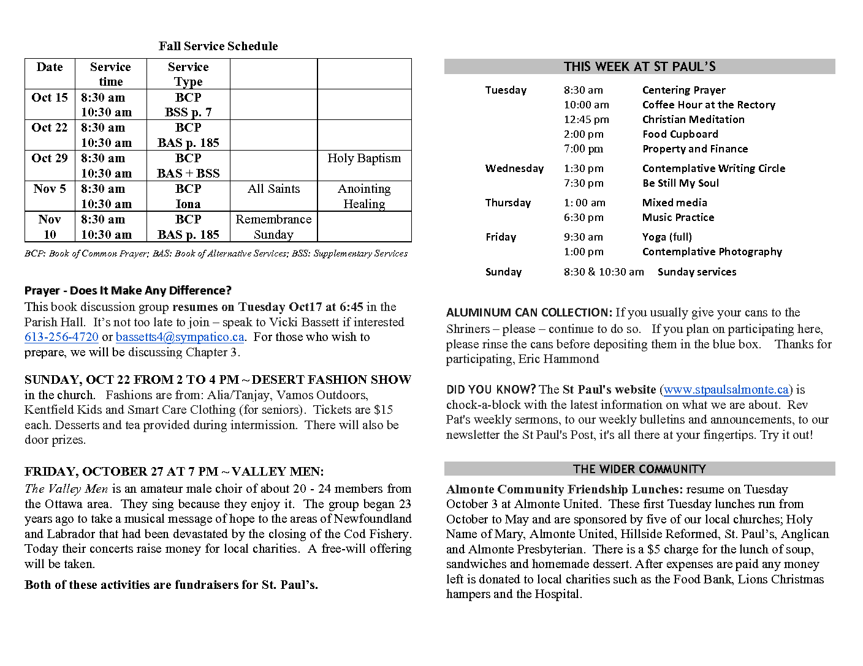 Announcements OCT 8 2017 (1)