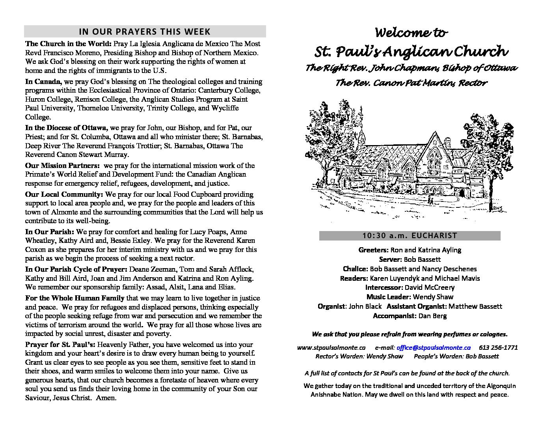 Bulletin-1030-am-June10-2018